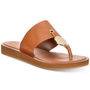 Aldo Gold Coin sandal